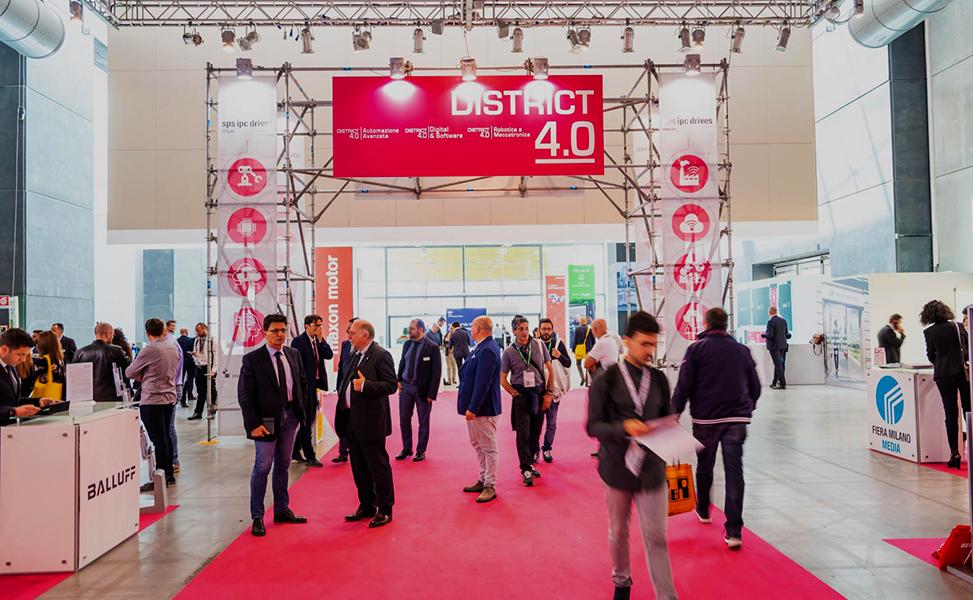 DISTRIC 4.0 @ SPS - ARVED SISTEMI MODULARI